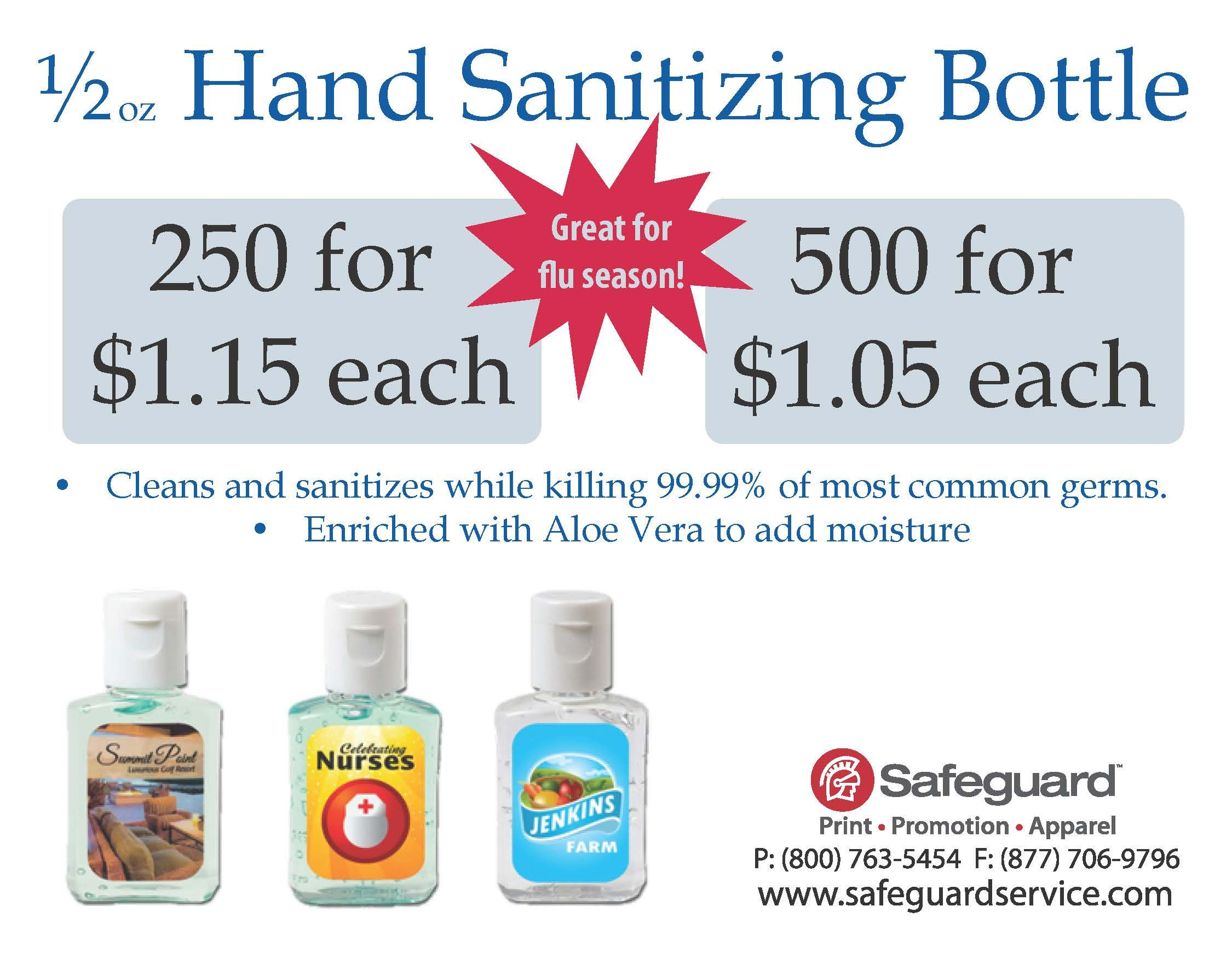These 1 2 Oz Hand Sanitizing Gels Are Enriched With Aloe Vera To
