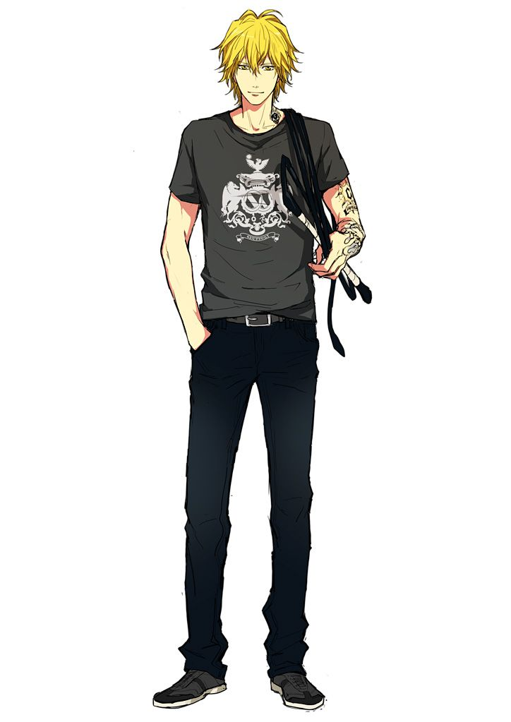 Dino Cavallone Katekyo Hitman Reborn Anime Blond