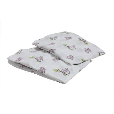 Found it at Wayfair.ca - Happy Monkeys Muslin Crib Sheet