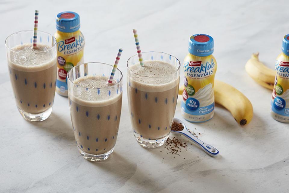 Banana Supreme Shake Recipe Sunrise smoothie recipe