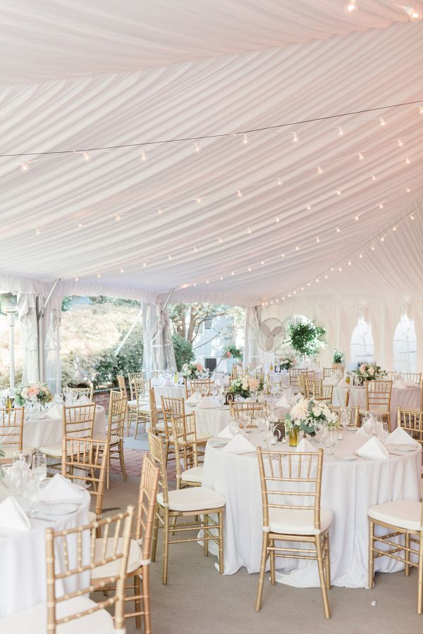 Pastel Garden Inspired Wedding Reception Style From Aisle Society