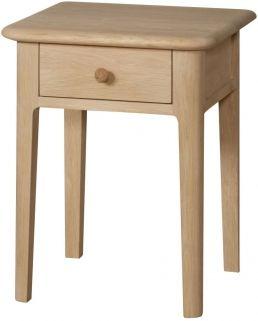 01caf888fa78 Qualita Hudson Oak Bedside Table | bedside | Bedside cabinet ...