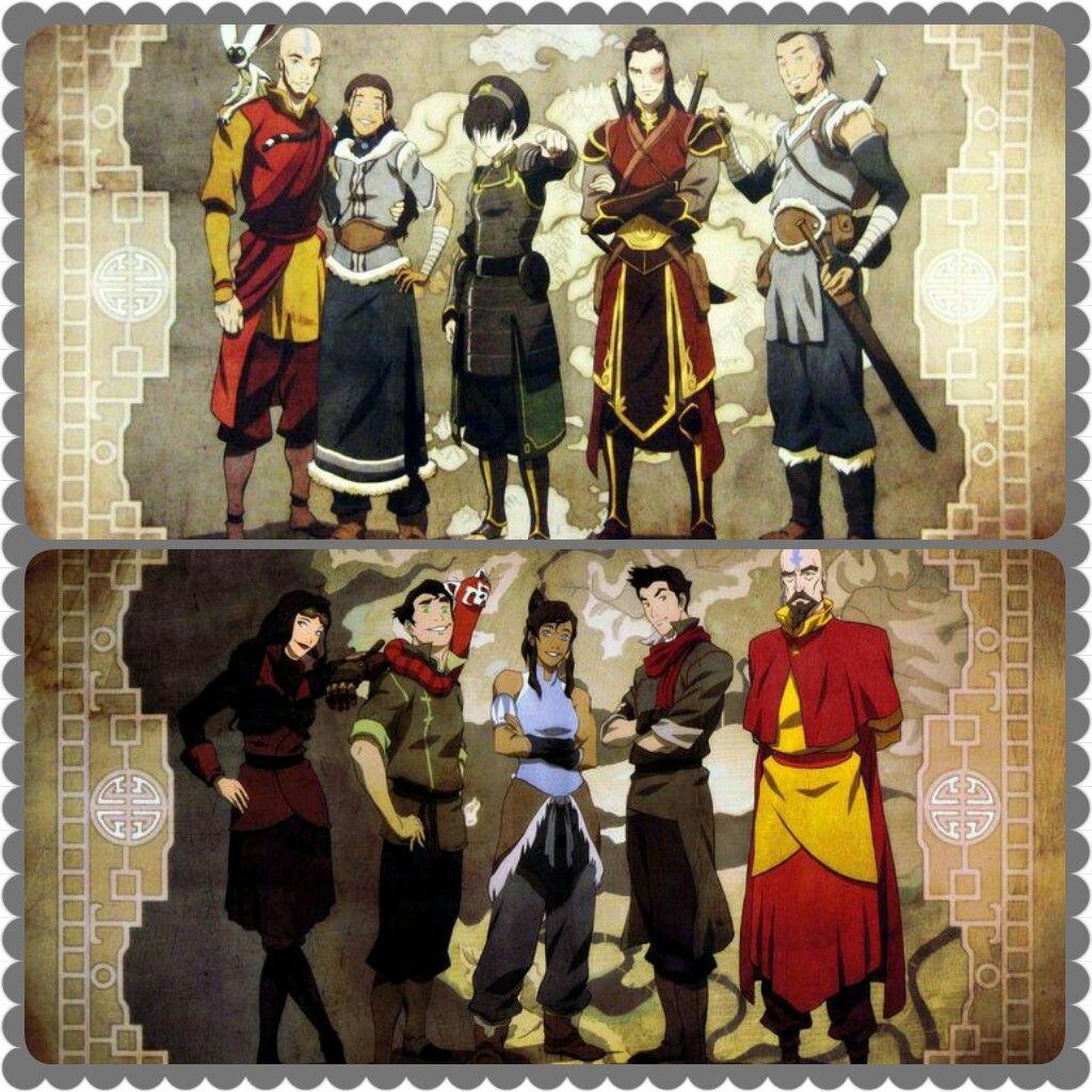 Team Avatar: Pin By Jackie Arreaza On Atla/lok