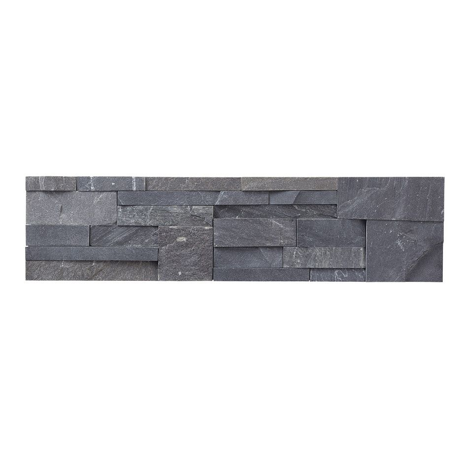Office Fireplace wall tile.  Not too dark and will be striking next to linen-like colors and work with pops of bright colors