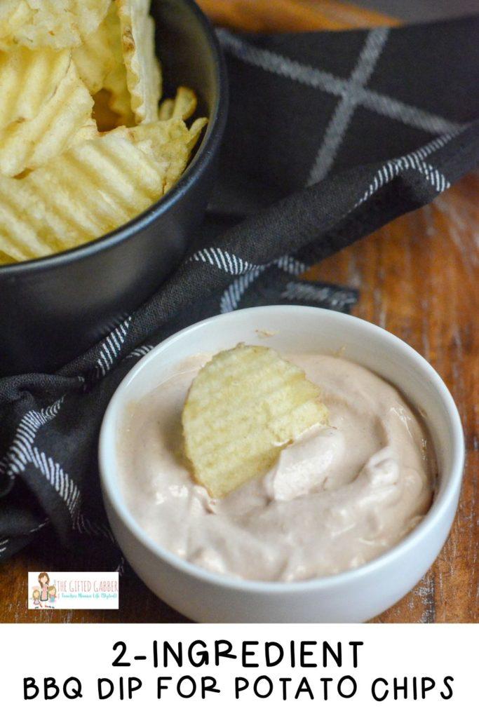 Bbq Dip For Potato Chips Easy Sour Cream Dip The Gifted Gabber Recipe Dip For Potato Chips Sour Cream Dip Cold Dip Recipes