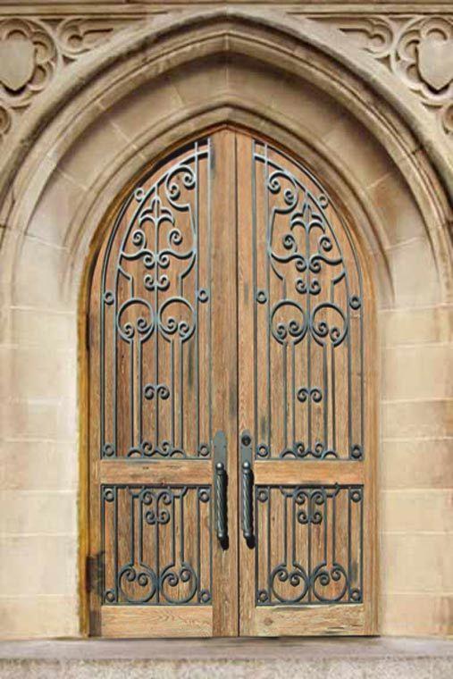 Church Door - Castle Doors 15th Cen France - CD1303 - Church Door - Castle Doors 15th Cen France - CD1303 Doors