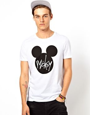 4ba0e46408947a ASOS T-Shirt With Mickey Mouse Print | Wardrobe Revamp | Asos t ...