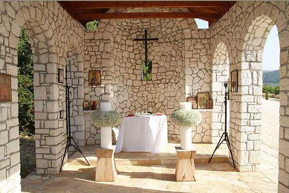 Stone Chapel #Kefaloniawedding #Ionianweddings