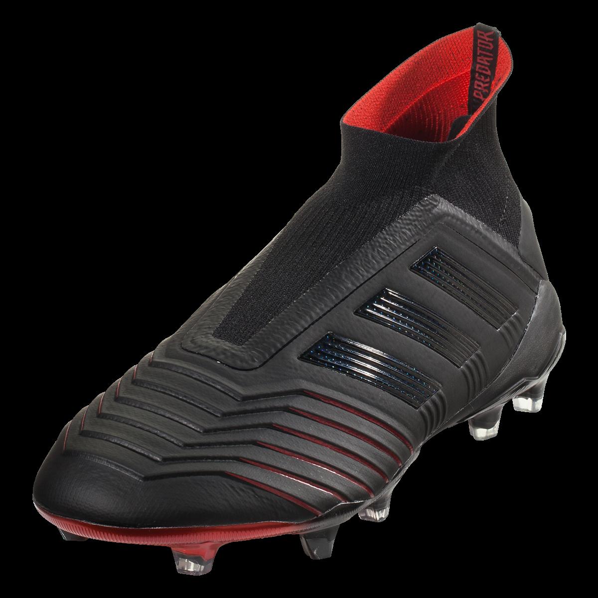 Adidas Predator 19 Fg Soccer Cleat Core Black Core Black Active Red 9 Adidas Predator Soccer Cleats Cleats