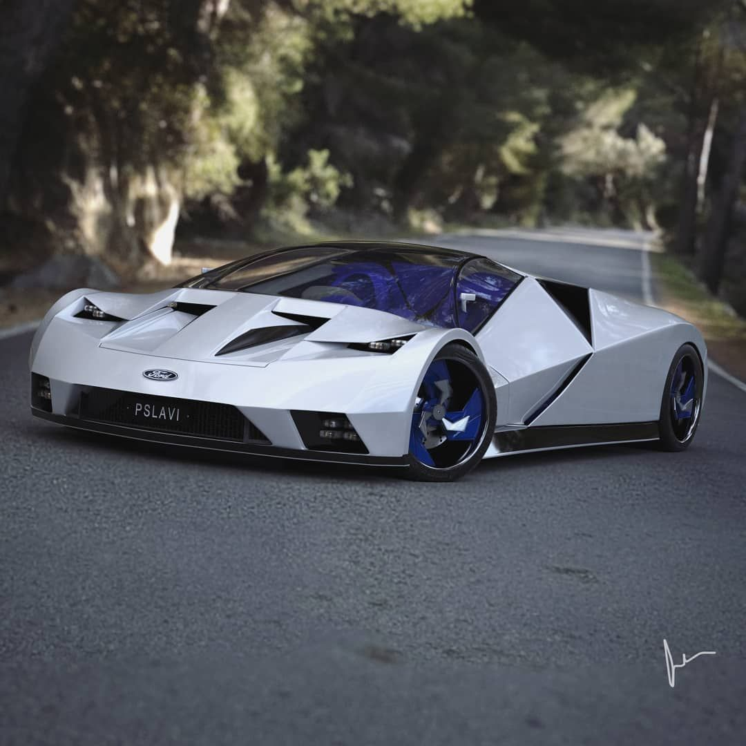 Swipe For 1 More Back In 1995 Ford Had A Prototype Supercar The