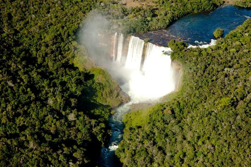 Pontos Turísticos de Mato Grosso: Salto Utiarati em Campo Novo dos Parecis