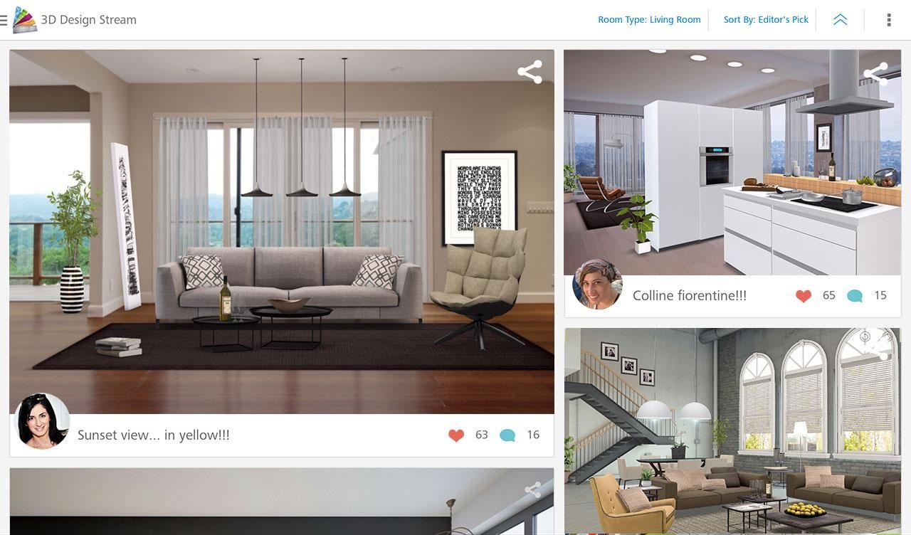 Autodesk homestyler interior design app within also fashion rh pinterest