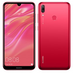 Huawei Y7 Prime 2019 Coral Red Huawei Prix Tunisie Portable