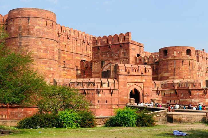 AGRA FORT,AGRA (INDIA)