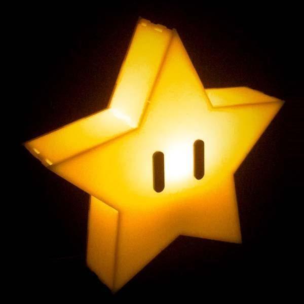 Super Mario Star Mood Light In 2019 Star Lamp Mario
