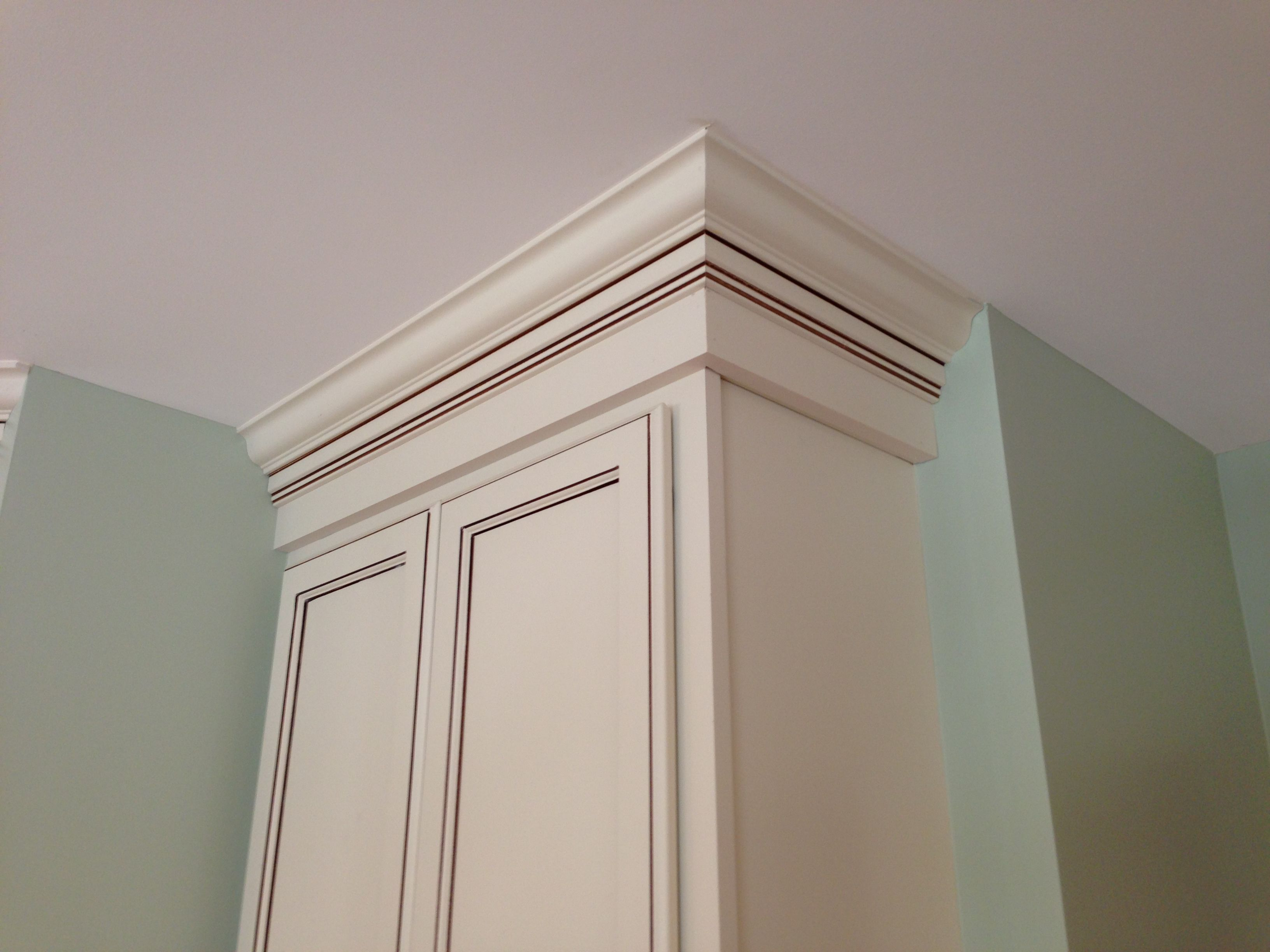 Crown Moulding Stack I Call This The Denny Special Installed By Denny Keys Kitchen Remodel Remodel House