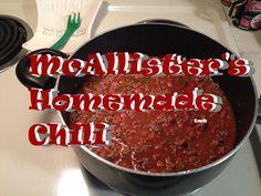 McAllister's Homemade Chili