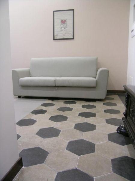 Mattonelle esagonali gres cerca con google cose belle pinterest tiles bathroom e home - Mattonelle bagno roma ...