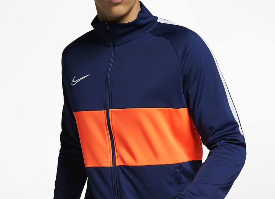 792012904a Nike Dri-FIT Academy Football Jacket - Blue Void / White / White ...