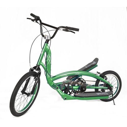 Zike Saber Hybrid Adult Stepper Bmx Scooter Bike Lime Green