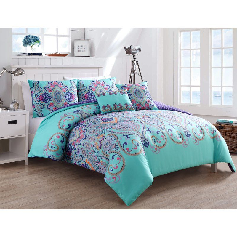Greber Reversible Comforter Set With Images Comforter Sets