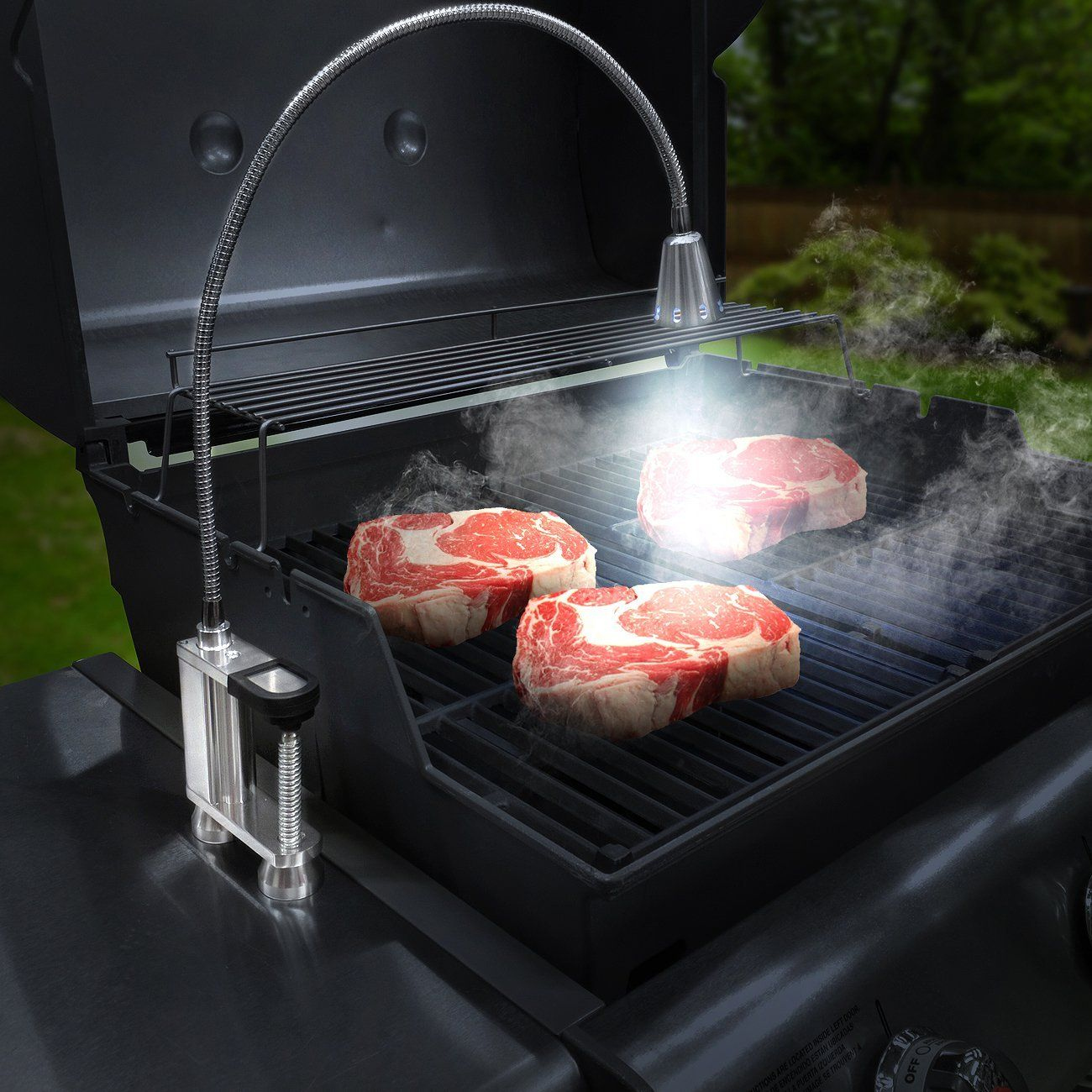 Flexible Grill Light Grill Light Barbeque Tools Diy Barbecue