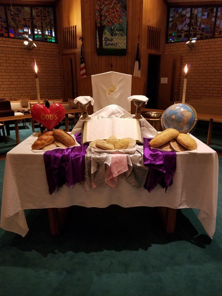 World Communion Sunday At St Timothy Umc Brevard Nc 2017