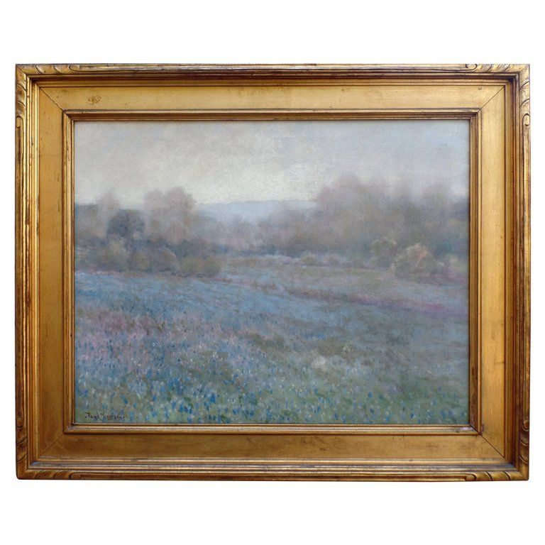 Paul Mersereau Bluebonnets Oil Painting Fine Art Mirrors