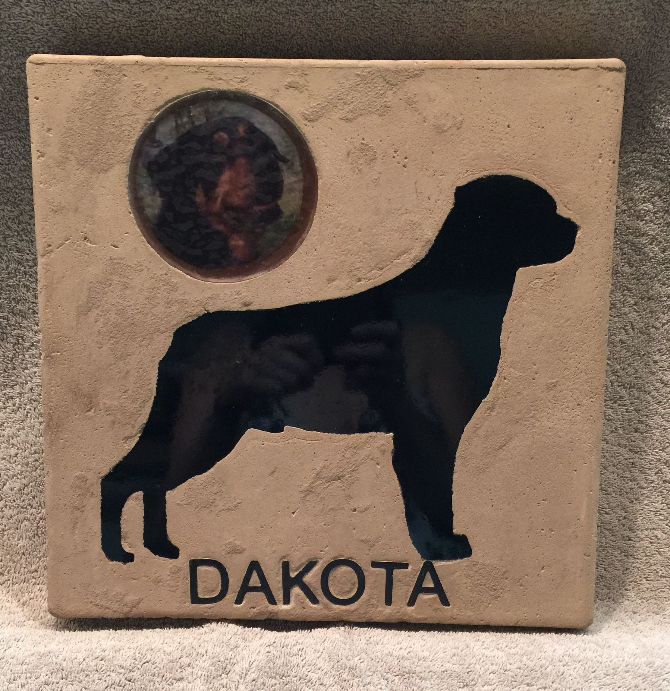Commemorate your beloved pet with dog memorial headstone, pet grave ...