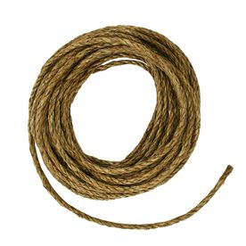 Blue Hawk 3/8-in x 50-ft Twisted Manila Rope $8.39 Use for making the mason jar lanterns...stronger than Jute and Sisal