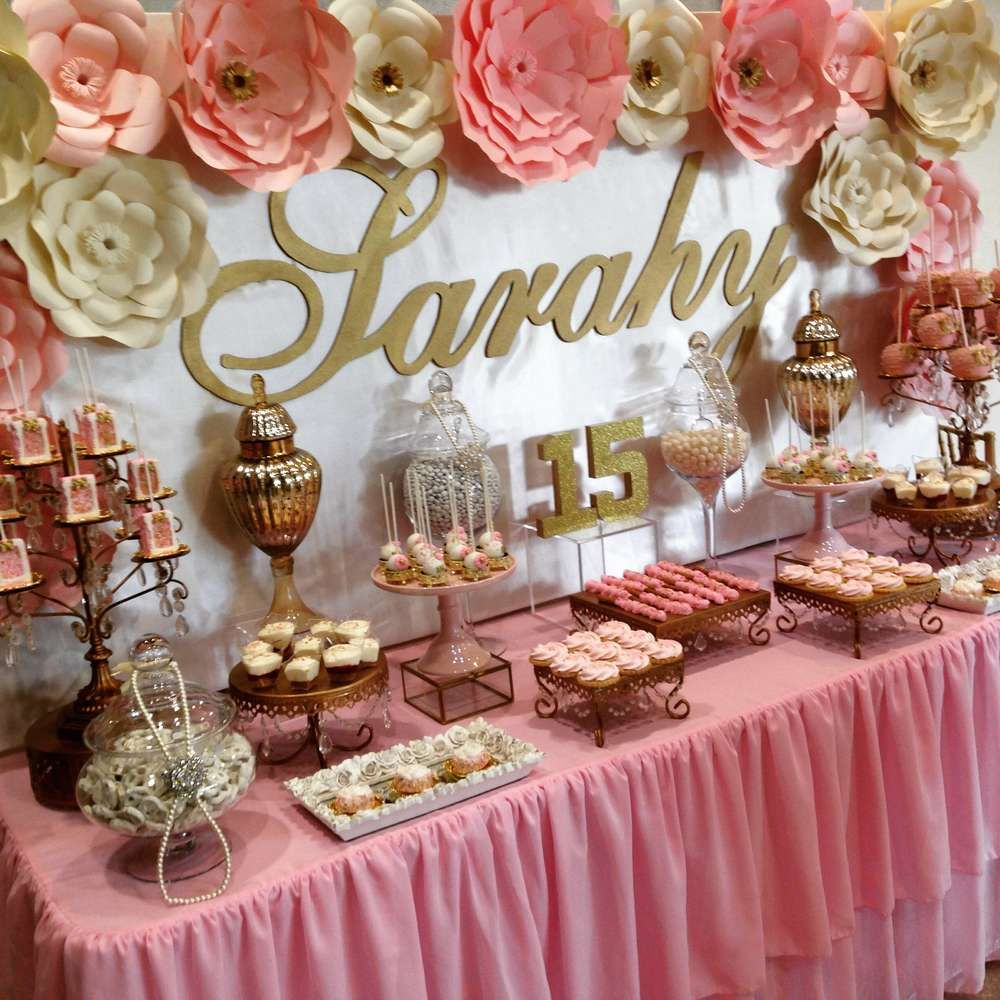 Quinceanera Quinceanera Party Ideas Quince Decorations 15th