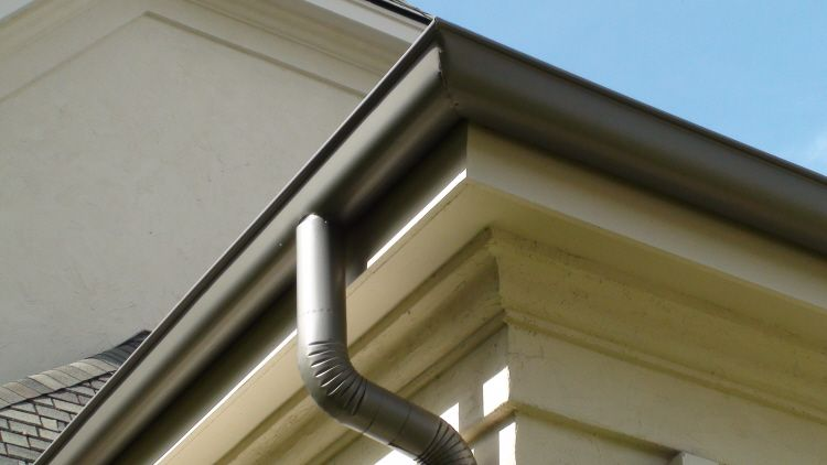Image result for Half-round gutters