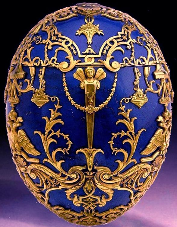 Faberg imperial tsesarevich easter egg 1912 this egg is made faberg imperial tsesarevich easter egg 1912 this egg is made of several segments negle Gallery