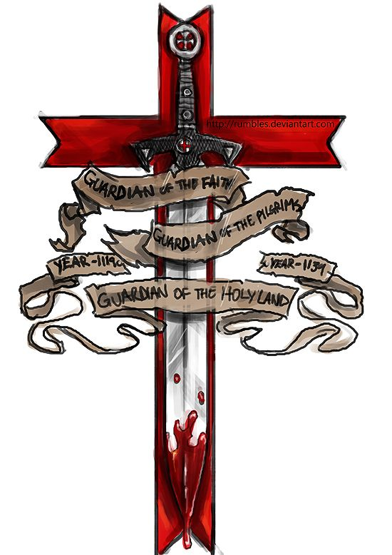 Member of the Templar - tattoo design by MrRumbles ...