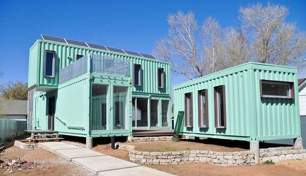 Storage Container Homes Shippingcontainer houses Pinterest