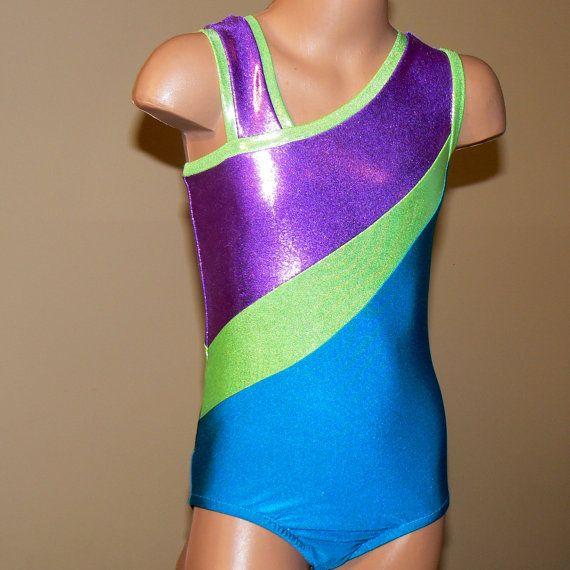 "For 18/"" American Girl Purple Gymnastics Dance Leotard McKenna Doll Clothes"