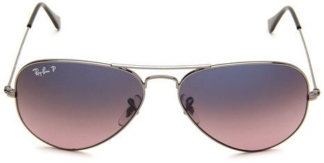 amazoncom ray ban 0rb3025 aviator sunglassesgold framebrown
