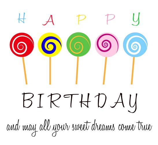Whatsapp a sweet colorful candylicious birthday wish to your whatsapp a sweet colorful candylicious birthday wish to your loved ones with bookmarktalkfo Choice Image