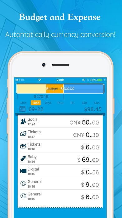 Best free expense tracking app ios