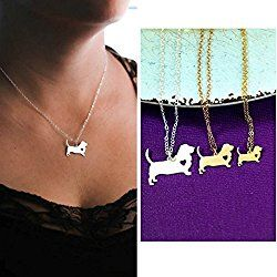 Basset Hound Dog Necklace - Hush Puppy - IBD - Personalize with Name or Date - Choose Chain Length - Pendant Size Options - Sterling Silver 14K Rose Gold Filled Charm - Ships in 2 Business Days