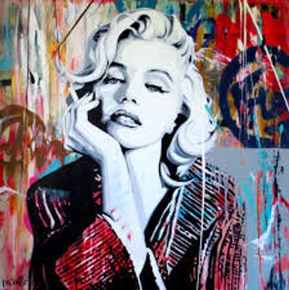 Marilyn Monroe Fabric  Panel Fabric  Chair Upholst