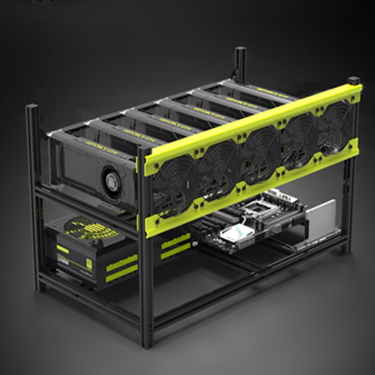 US$199 90] VEDDHA V3D ETH ZEC Aluminum Stackable Miner Mining Case