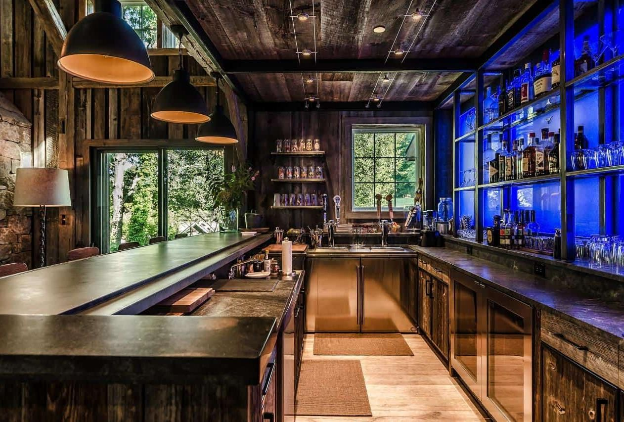35 Home Bar Ideas To Make Your Space Awesome In 2020