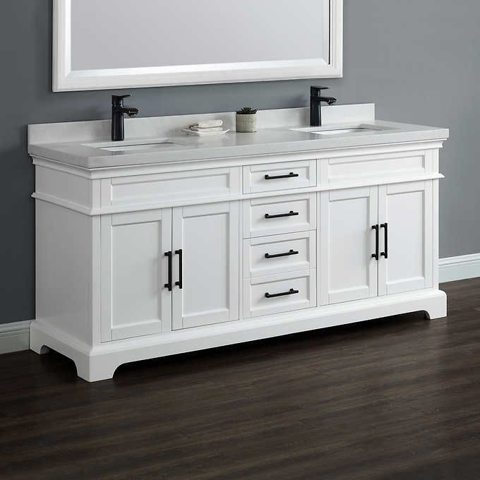 Groovy Chandler 72 Bathroom Remodel In 2019 Double Sink Vanity Home Interior And Landscaping Synyenasavecom