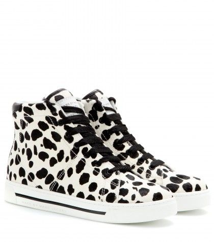 Marc by Marc Jacobs - Animal-print calf hair high-tops  - mytheresa.com GmbH