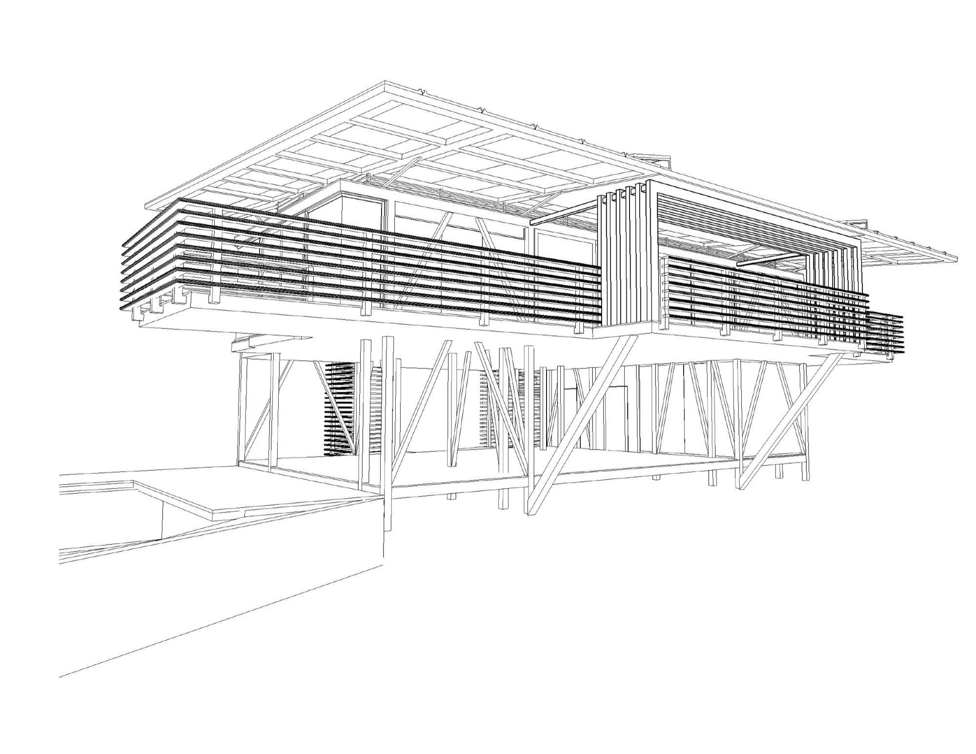 Home Design Sketch Gallery Of Iseami House Robles Arquitectos 23 Archy Way