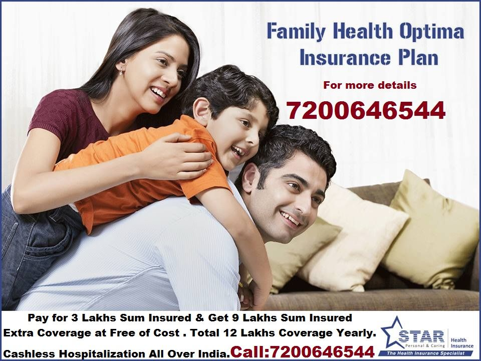 Star Health Family Insurance Pay For 3 Lakhs Sum Insured And Get