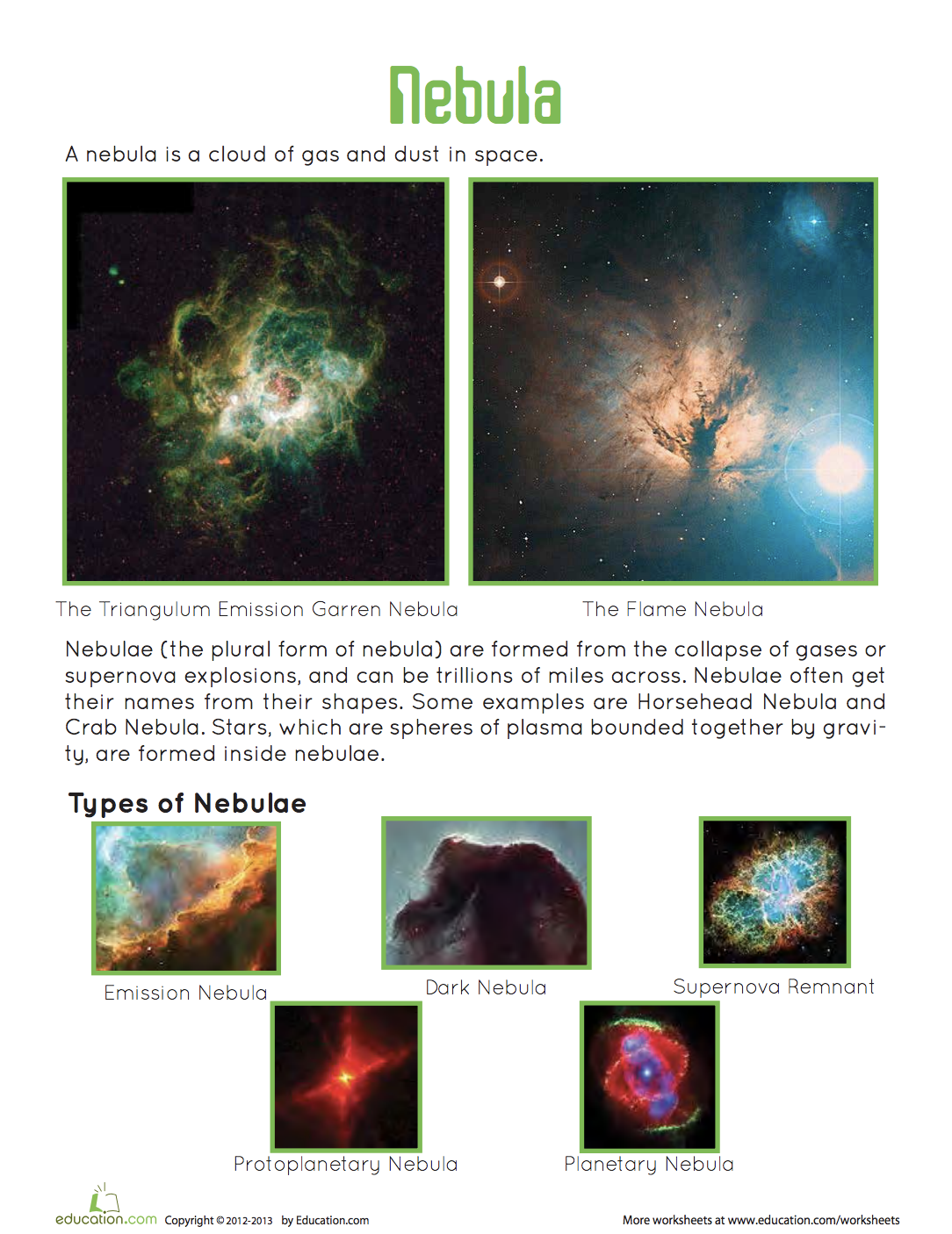 What Is A Nebula