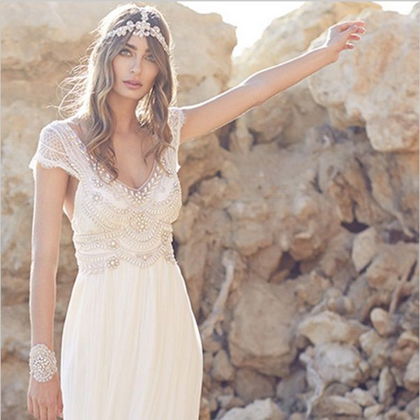 Cool Cheap vestido de noiva Buy Quality de noiva directly from China summer wedding dress Suppliers Full Lace Wedding Dress Open Back Sleeveless Summer
