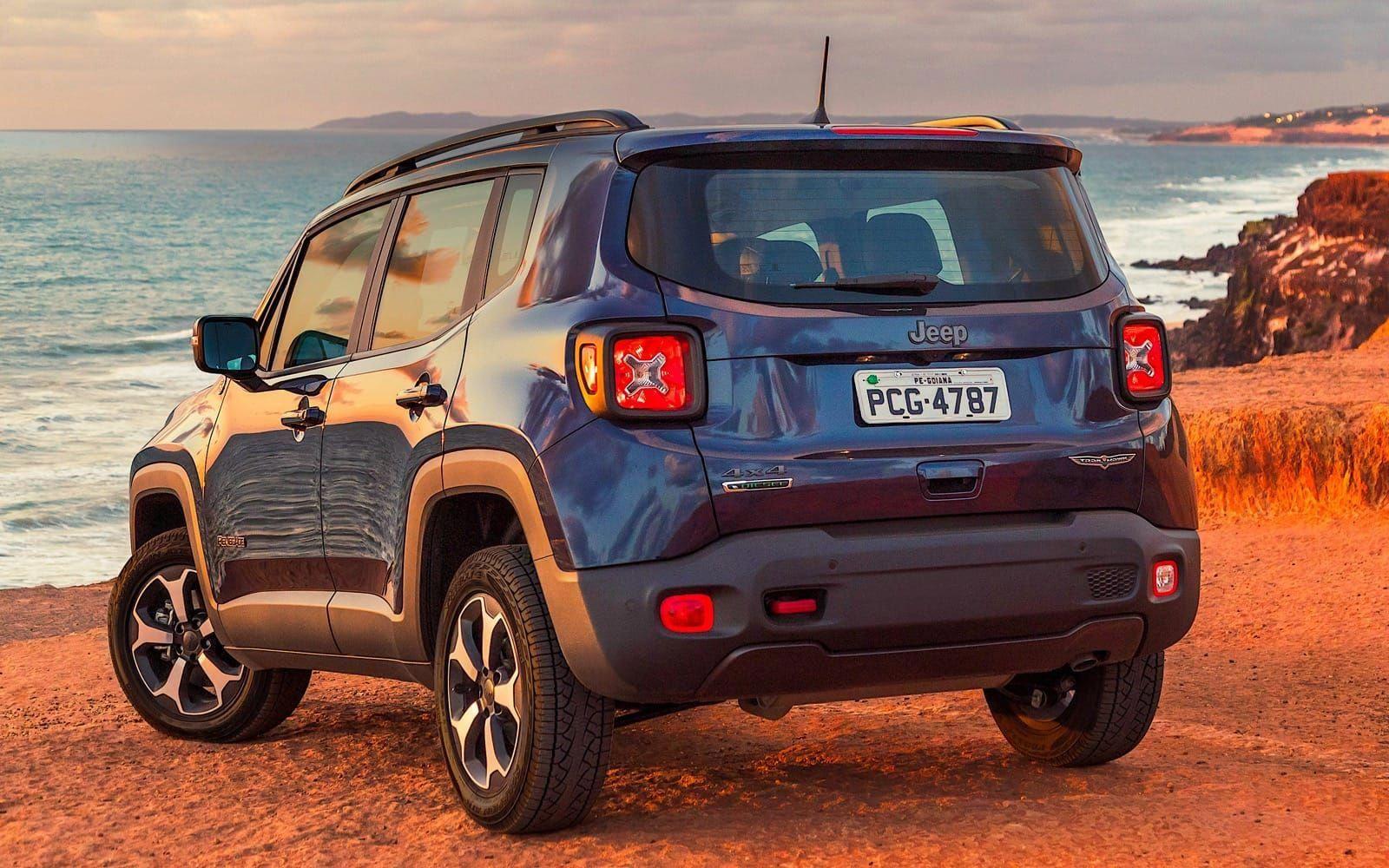 El Jeep Renegade 2019 Se Pone Al Dia En Mercosur Suv S Jeep
